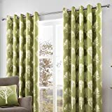 Best Home Fashion Curtain Rods - Fusion - Woodland Trees - 100% Cotton Ready Review