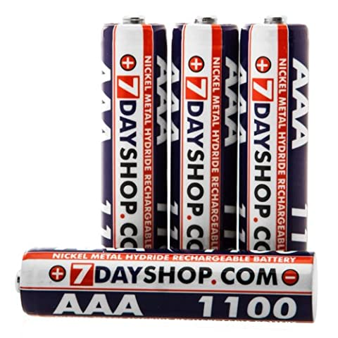 7dayshop AAA HR03 NiMH High Performance Rechargeable Batteries 1100mAh -