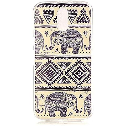Meet de elefante Caso / copertura / Telefono / sacchetto Per Motorola Moto G4 / G4 Plus PU Pelle Case , Motorola Moto G4 / G4 Plus Custodia / Cover / Cover Shell / Protettiva Caso / Cover / Protezione / Copertura TPU Per Motorola Moto G4 / G4 Plus