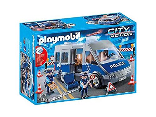 PLAYMOBIL Polizei Spielzeug Spiele Bildung Lernen Spielzeug Spiel Idee Geschenk Weihnachten # AG17