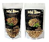 #1: Seasoned Roasted Peanuts -Cheesy Italiano & Tangy Mint Flavour ,140 g X 2