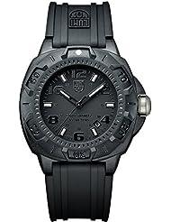 Luminox Sentry 0201.BO - Reloj de caballero de cuarzo, correa de caucho color negro
