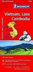 Vietnam Laos Cambodia - Michelin National Map 770 (Mapas National Michelin)