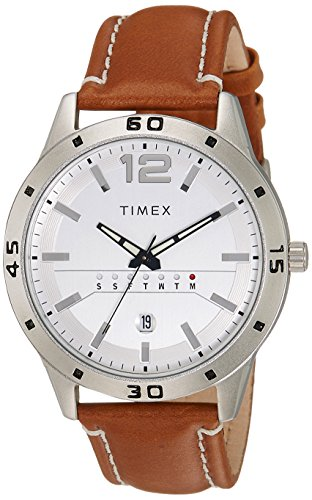 Timex Analog White Dial Men's Watch - TW000U933