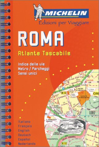 Plan de ville : Rome par Plans de Ville Michelin Europe