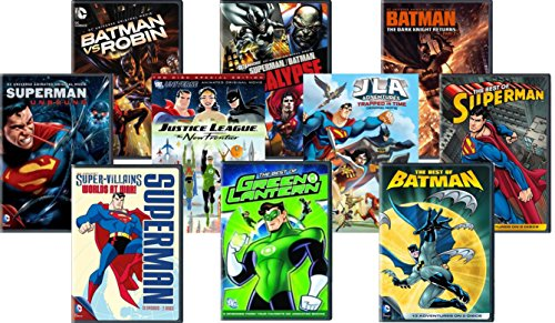 Ultimate DC Comics Collection 10 Film - Batman vs. Robin / Superman: Apocalypse / Superman: Unbound / Justice League - The New Frontier & Trapped in Time / Batman: The Dark Knight Return P2
