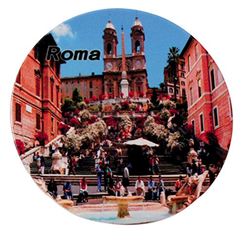 Galileo Casa Roma salvamanteles redondo, cerámica, multicolor