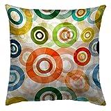 Zebra Textil 48619 Kissen Bezug, Digital Stoff, 50 x 50 x 0,5 cm, bunt