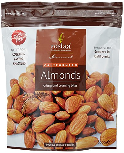 Rostaa Almonds Value Pack, 1000g
