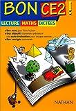Bon CE2. 3 disciplines fondamentales : le français, les mathématiques et l'orthographe...