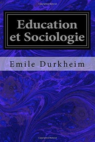 Education et Sociologie