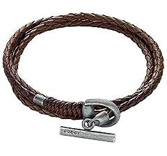 Idea Regalo - Bracciale Gucci HORSEBIT YBA338798002019 Argento
