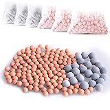 Austor 6 confezioni ioni negativi sfere minerali, bio-attivo pietra di ricambio per filtro doccetta ionica, purifica l' acqua della doccia a ringiovanisce la pelle e capelli