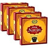 Cycle Navin Cup Sambrani with Resin, Benzoin Fragrances- Pack of 4 (12 Cups per Pack)