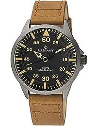 Reloj Radiant para Hombre con Correa Marron y Pantalla en Negro RA46602