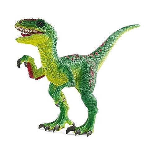 Schleich - 14530 - Figurine - Animal - Vélociraptor - Vert