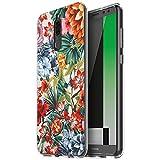 Eouine Huawei Mate 10 Lite Hülle, Ultra Slim Soft TPU Muster Schutzhülle Silikon Stoßfest Bumper Case Cover für Huawei Mate 10 Lite (5,9 Zoll) Smartphone (Bunte Blume)
