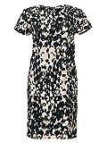 Druckkleid Knielang Partykleid Kleid Große Größen Beige Guido Maria Kretschmer, Größenauswahl:46