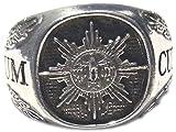MK-art Ring Deutscher Feldjäger, Militärpolizei mit Motto Suum Cuiqe (Jedem Das Seine)