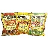 Snyder?s Pretzel Pieces Trio, 3 x 125g