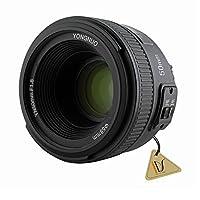 Otomobil Manuel Odaklama AF MF 50 mm F1.8 1: 1.8 Standard Prime Lens Nikon DSLRs Kamera için