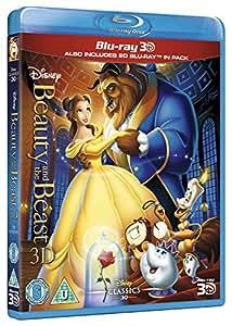 Beauty And The Beast [Blu-ray 3D + Blu-ray] [Region Free]