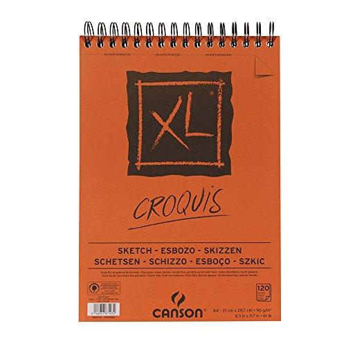 Cuaderno para croquis y esbozos Canson XL Sketch, esbozo, skizzen