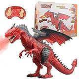 WeBeauties Ferngesteuertes Dinosaurier Spielzeug, Kinder Fernbedienung Tier Spielzeug, Coole Geschenke für Jungen Mädchen Kinder