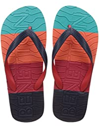 United Colors Of Benetton Men's Multicolor Flip-Flops And House Slippers - 6 UK/India (39 EU)