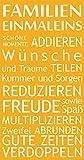 GRAZDesign 300161_50_WT020 Wandtattoo Familie für Wohnzimmer | Wandspruch für Deine Familie | Spruch Familien Banner Familienregeln | Selbstklebende Folie (95x50cm//020 Goldgelb)