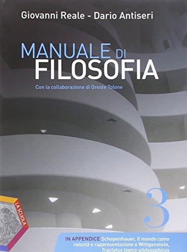 Manuale di filosofia. Ediz. plus. Per i Licei. Con DVD. Con e-book. Con espansione online: 3