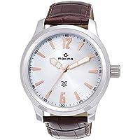 Maxima Attivo Analog Silver Dial Men's Watch - 24061LMGI