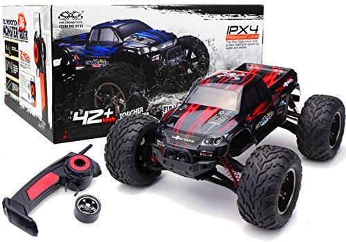 RC Auto kaufen Monstertruck Bild 6: s-idee® 18175 9115 RC Auto Buggy wasserdichter Monstertruck 1:12 mit 2,4 GHz über 40 km/h schnell, wendig, voll proportional 2WD ferngesteuertes Buggy Racing Auto*