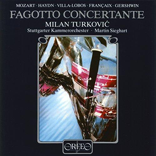 Mozart, Haydn, Villa-Lobos : Oeuvres concertantes pour hautbois. Turkovic, Sieghart.