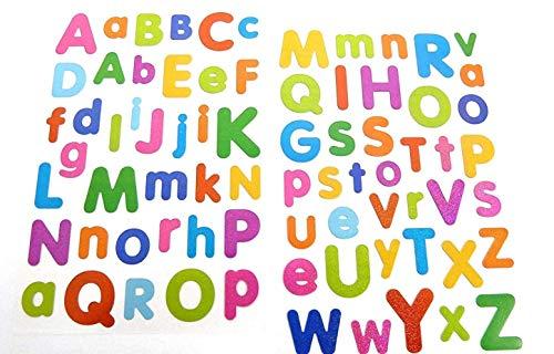 bunt Alphabet Buchstaben Sticker - Kinder / Kinder Etiketten für Partytüten, Schrott Bücher, KARTE HERSTELLUNG Notizbuch Planer Deko