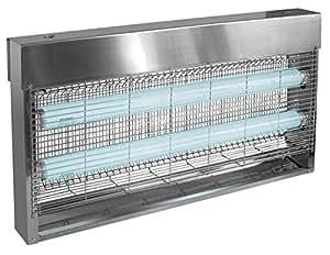 Jvd - desinsectiseur Électrique 40 Watts Inox, destructeur D'Insectes Pro - Ref : 855627