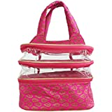 Bagaholics Multi Functional Beauty Travel Multipurpose Cosmetic Bag Organizer Case Makeup Make Up Wash Pouch Toiletry...