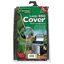 Kingfisher COV121 Copertura per Barbecue Extra Grande, Trasparente, 170x70x115 cm
