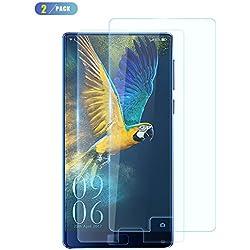 Elephone S8 Verre Trempé Protection d'écran, CiCiCat [2- Pièces] 0.26mm Dureté 9H Glass Protecteur d'Écran en Verre Trempé Film de l'écran pour Elephone S8, [Protection complète] (Elephone S8 6.0'', 2- Pièces)