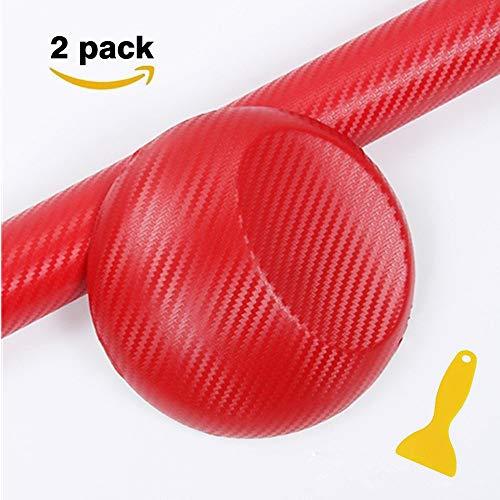 Minleer - Adhesivo 3D de fibra de carbono con rasqueta, adhesivo de...