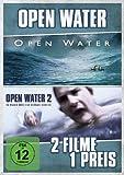 Open Water / Open Water 2 - Im Wasser hört dich niemand schreien [2 DVDs]