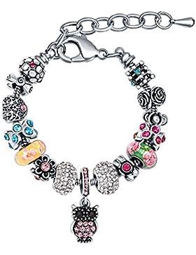 Frauen Armdand MANBARA Armband Anhänger Glasperlenarmband Anhänger Armband