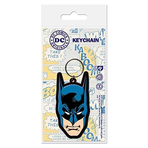 DC Comics - Porte-clés caoutchouc Batman 6 cm, Figurines