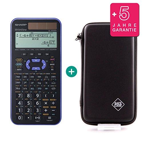 SHARP EL-W506X Violett + Schutztasche + Erweiterte Garantie