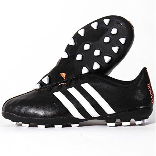 Adidas 11nova TRX AG Scarpe da calcio per bambini, colore nero/bianco Dimensioni: 5.0UK-38,0UE