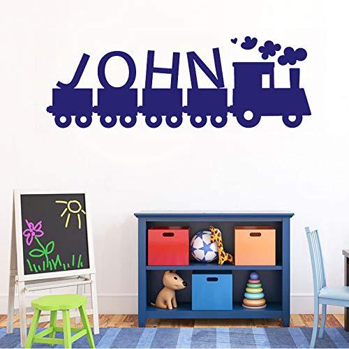 yiyiyaya Zug Thomas icon anpassbare Name Vinyl Wand Applique Junge mädchen Zimmer wohnkultur tapete Kunst wandbild57 * 20 cm (Thomas Der Zug-bild)