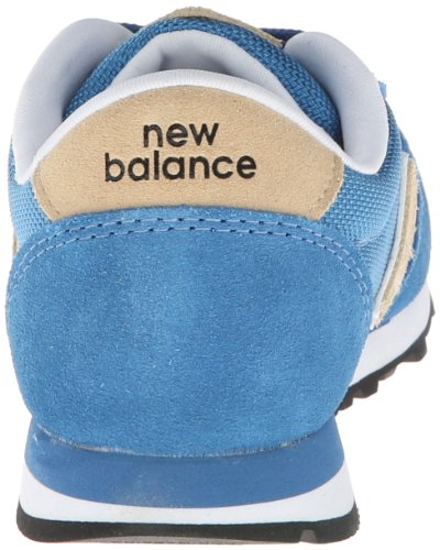 New Balance Lifestyle Mode De Vie Blue White Youths Trainers Blau Weiss