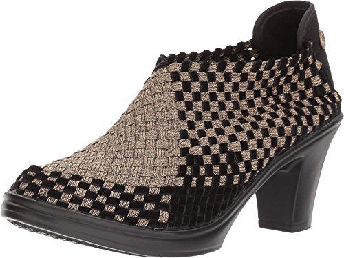 Bernie Mev - Zapatos Vestir Mujer Negro Bronze/Black