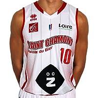 Errea St. Chamond Basket Réplica Domicile D8003s0021060 Maillot de Basketball Homme