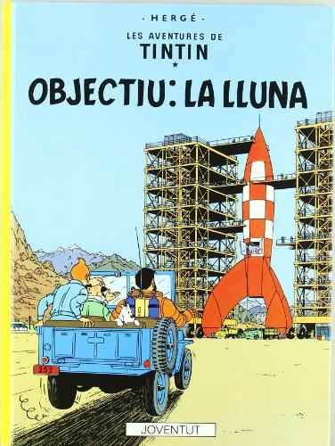 Objectiu : la Lluna por Hergé
